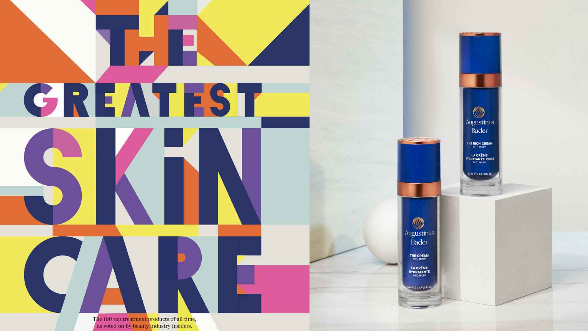 Augustinus Bader - Voted Greatest Skincare of All Time