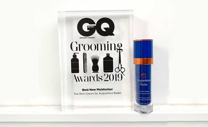 GQ Grooming Awards: Best New Moisturiser 2019