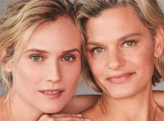 Diane Kruger & Pati Dubroff for Augustinus Bader