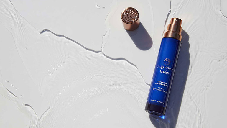 Who What Wear: Augustinus Bader Just Released a Cleanser and it's Basically Liquid Gold