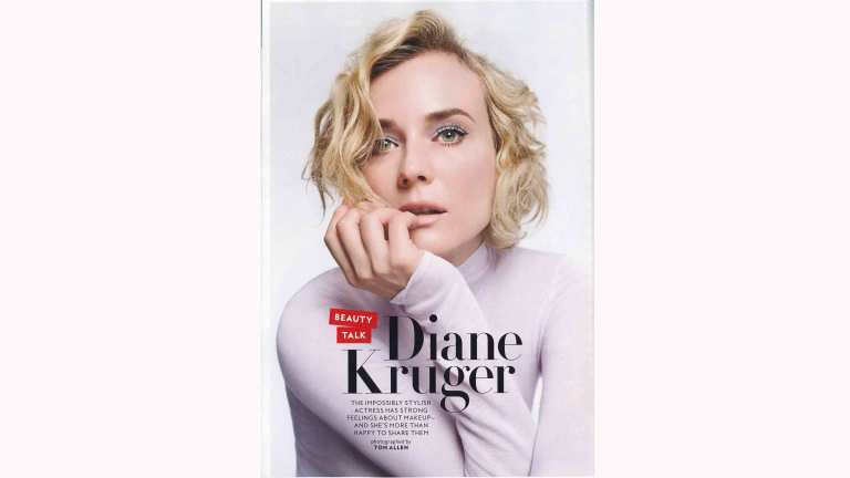 InStyle: Diane Kruger Is Over Trends