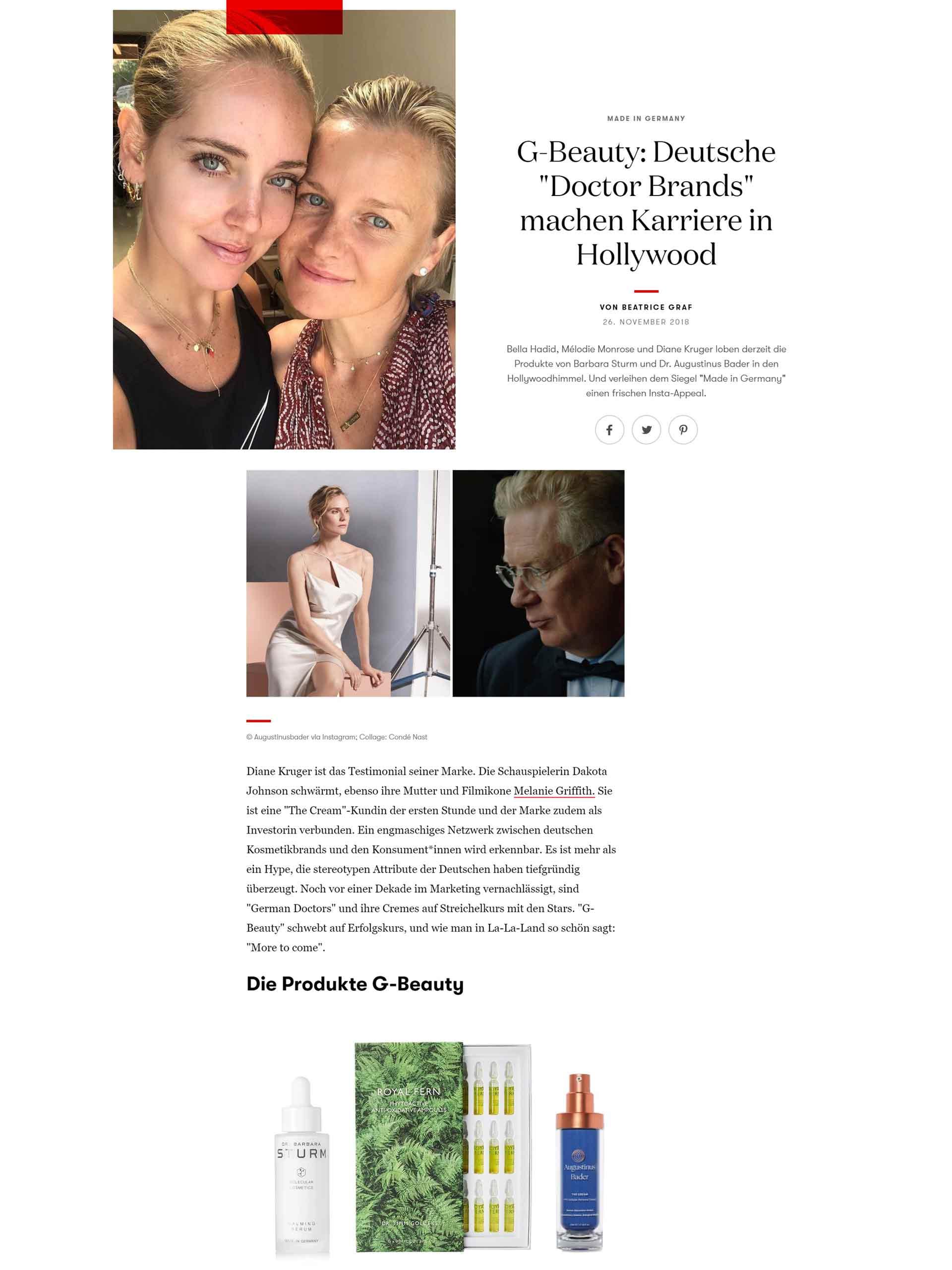 b5a0335458555c Augustinus Bader   Vogue: G-Beauty: German